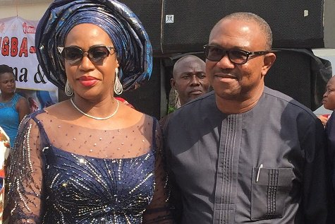 Wife of ex-Governor, Mrs. Margaret Peter-Obi, has debunked the rumour linking her to an impending divorce, describing it as the height of wickedness.