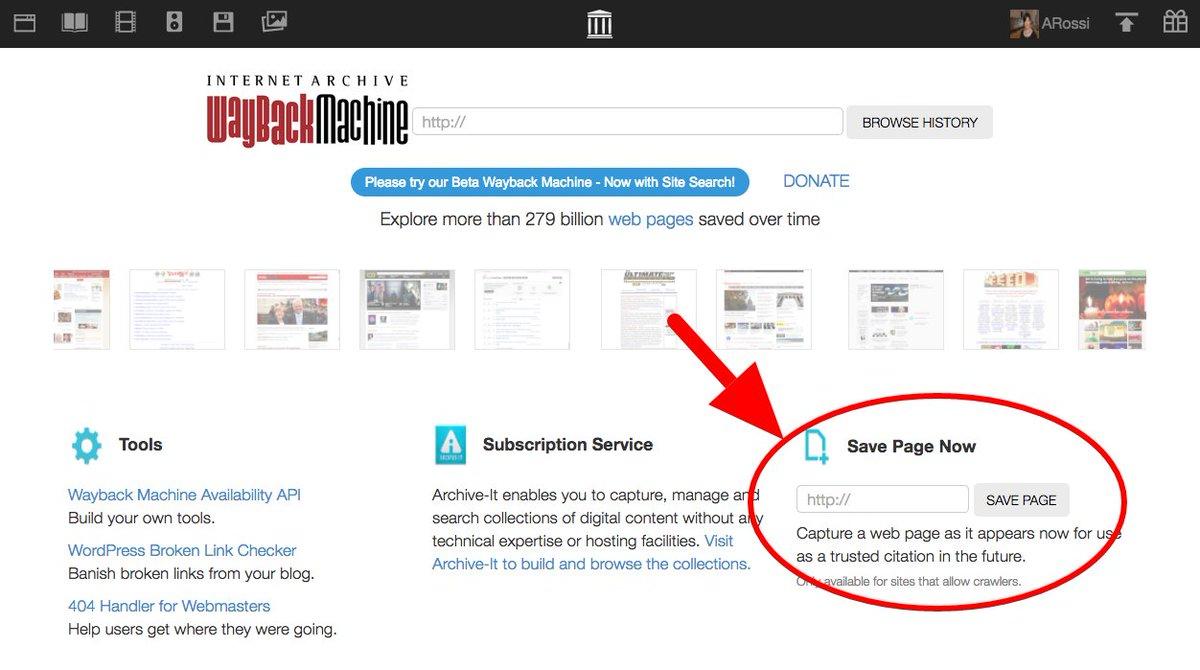 Internet Archiveverified Account