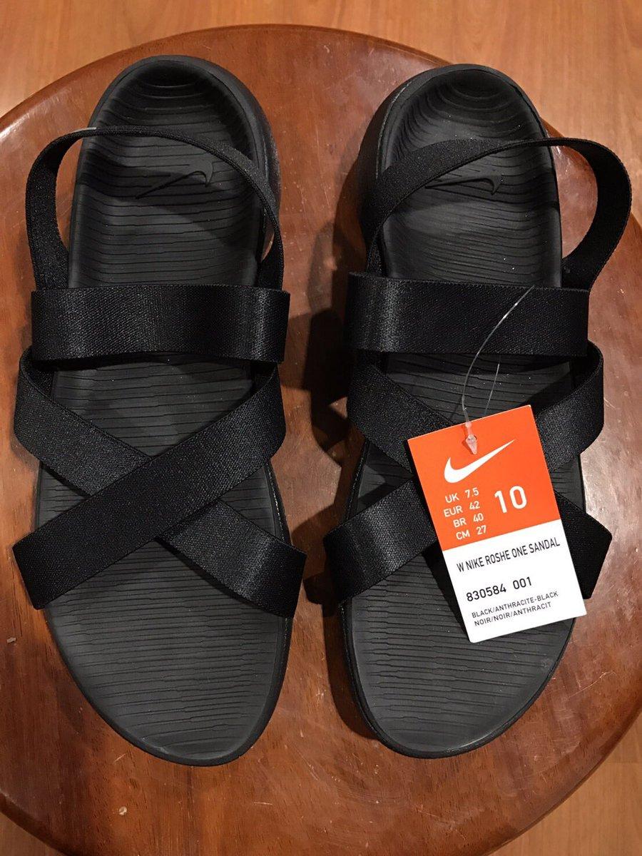 new styles f287b 7ce03  ขายรองเท้า  nike ของแท้จากเมกา ขายเพราะใส่ไม่ได้ใหญ่ไป สนใจแอดไลน์  nunuchjm ไม่มีกล่องนะคะ  nikerosheonesandal ซื้อมา 3,800 ขายต่อ 3,500 คะ ...