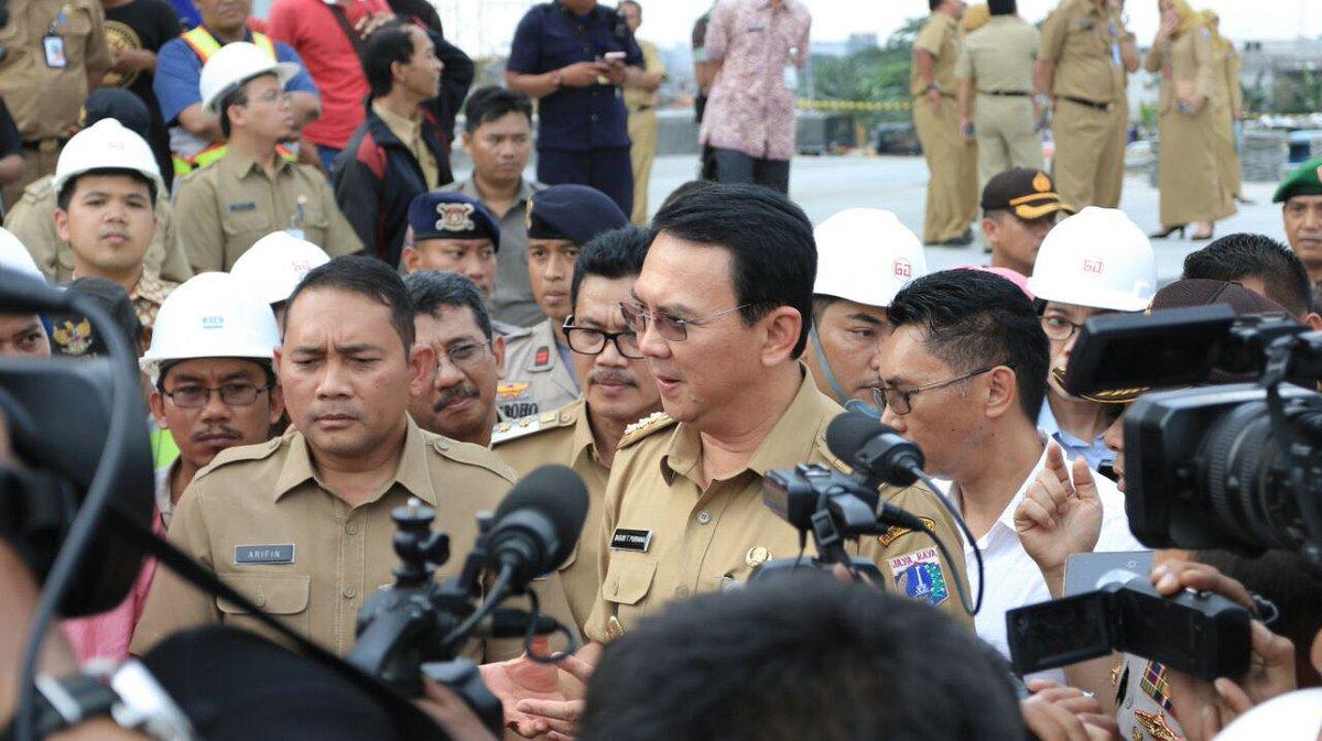 16 April 2017, Jokowi Direncanakan Resmikan Masjid Raya Daan Mogot