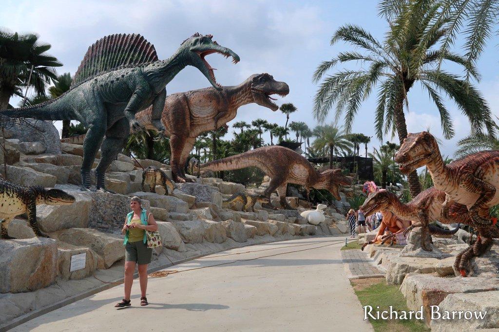 "AmazingThailand on Twitter: ""PHOTO by @RichardBarrow: Kids will love the  Dinosaur Walk at Nong Nooch Tropical Garden in Pattaya #Thailand #ttot  https://t.co/IvcHCKoC52"""