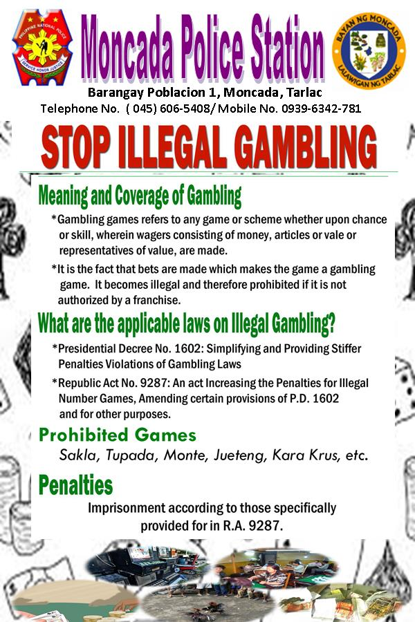 Illegal gambling law penalty governor of poker 4 free download for pc
