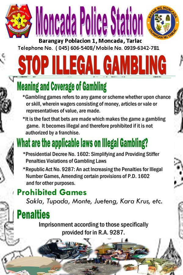 Law on illegal gambling casino free bonus uk