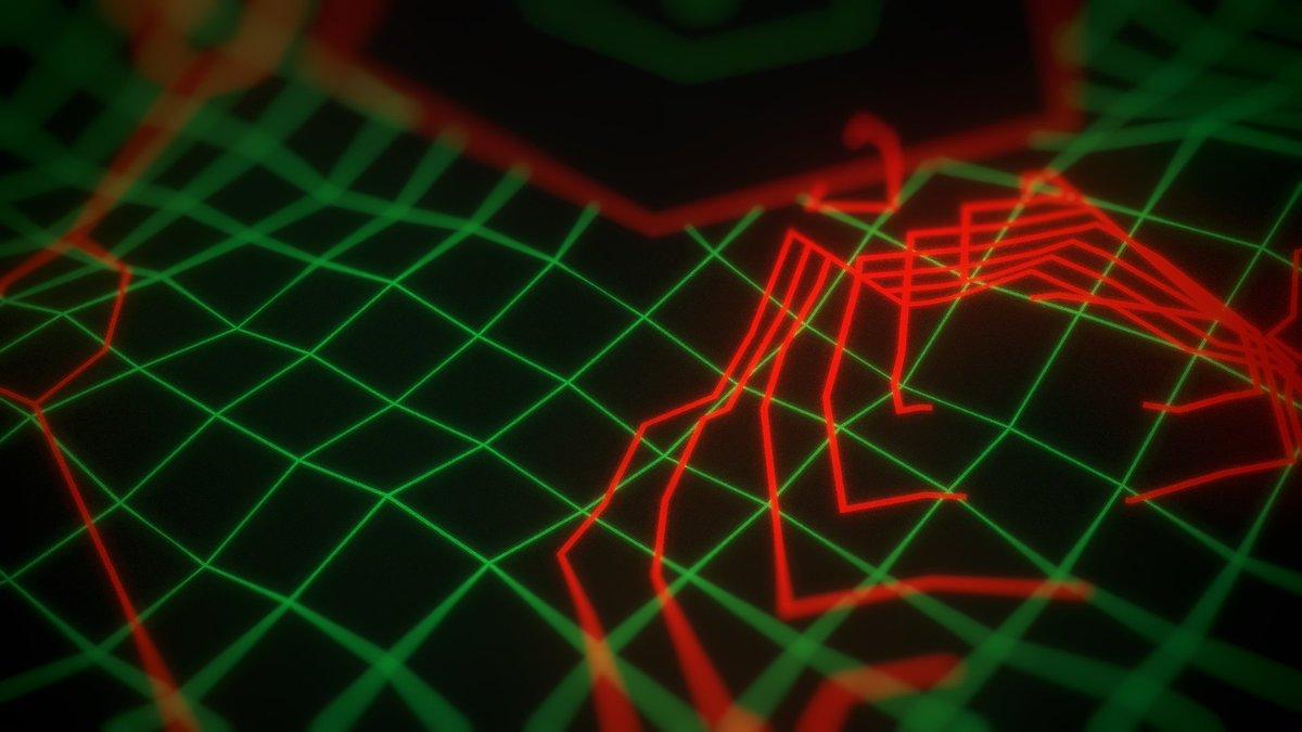 Incursion Matrix /// #hologram #wireframe #ui #scifi #retro #interface