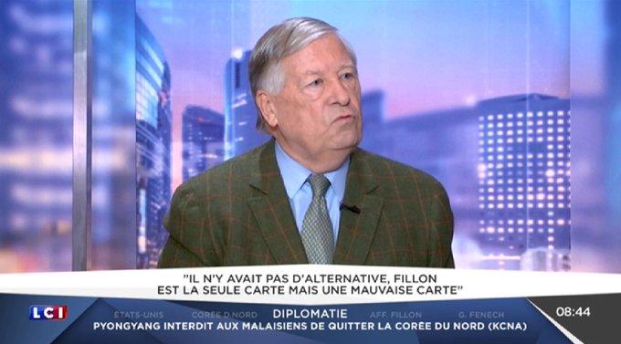 .@AlainDuhamel : 'La campagne la plus professionnelle est de loin celle de Marine Le Pen' #LCImatin
