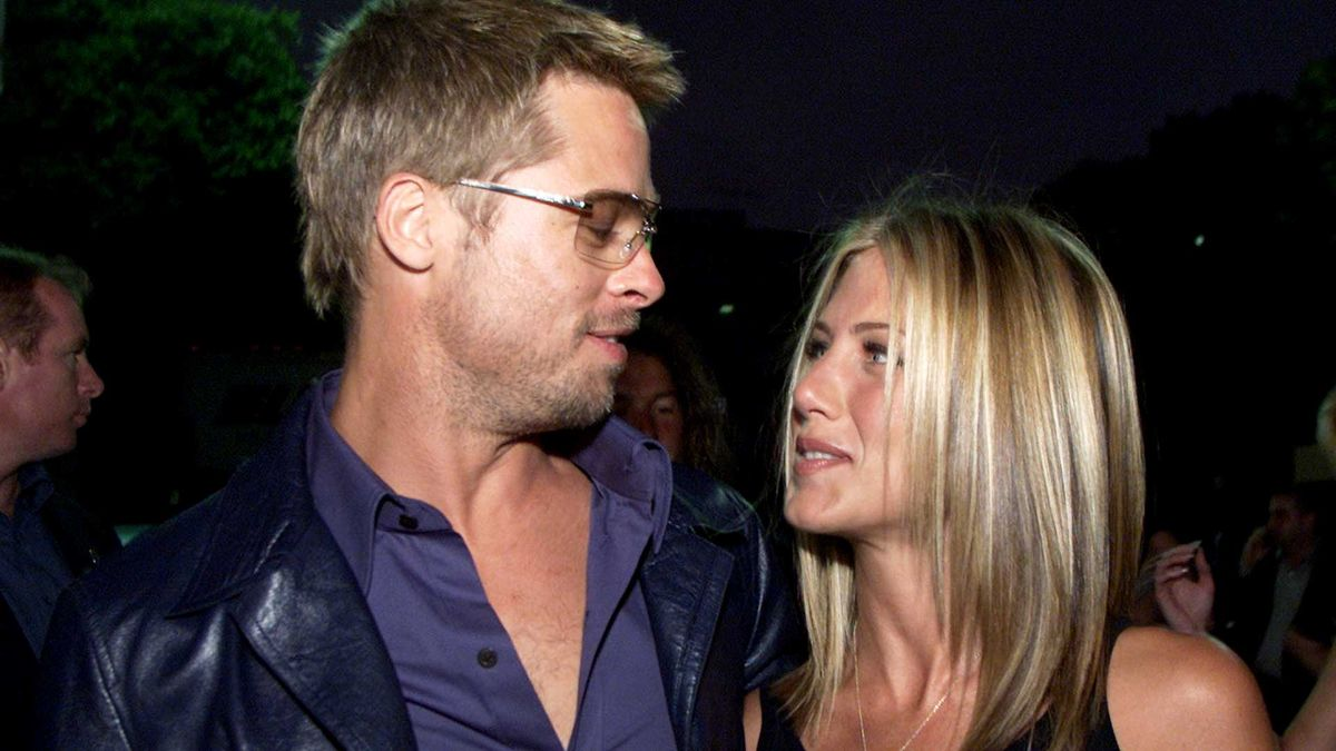 Foto Brad Pitt Jennifer Aniston