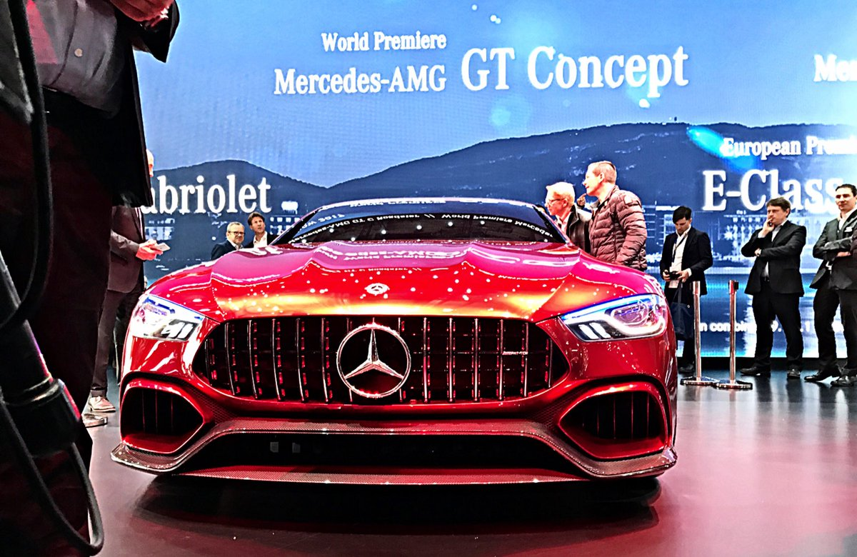 Dieter Zetsche: The last thing you would expect from a new #MercedesAMG is: silence https://t.co/SMuuEW89TU