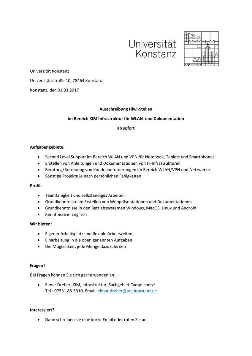 Uzivatel Universitat Konstanz Na Twitteru