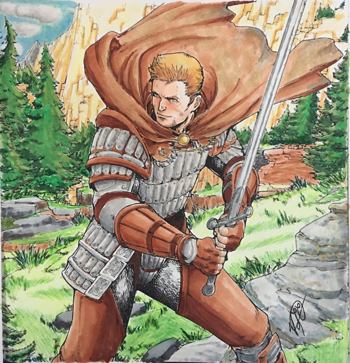 Veronica Coors On Twitter Another From My Dragon Age Coloring Book