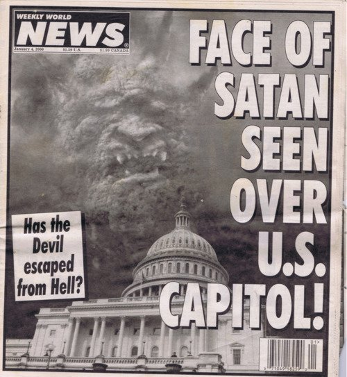 I enjoyed the Weekly World News. RT @AcidEater_Fusao: Face of Satan and Jesus #WeeklyWorldNews https://t.co/DRaW8QZXsd