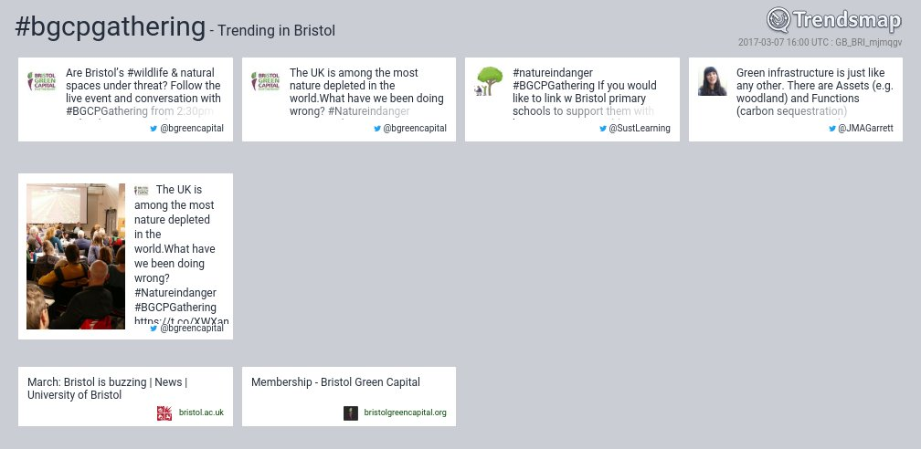 #bgcpgathering is now trending in #Bristol  https://t.co/bzsnTI5lx5 https://t.co/FOJASuylD3