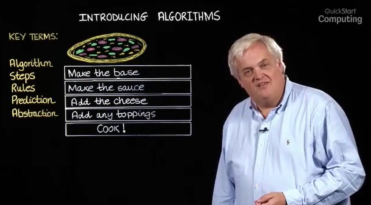 Algorithms are at the heart of computational thinking. @mberry CAS Quickstart. https://t.co/EUD9fYJdBt https://t.co/h94lECI1q2