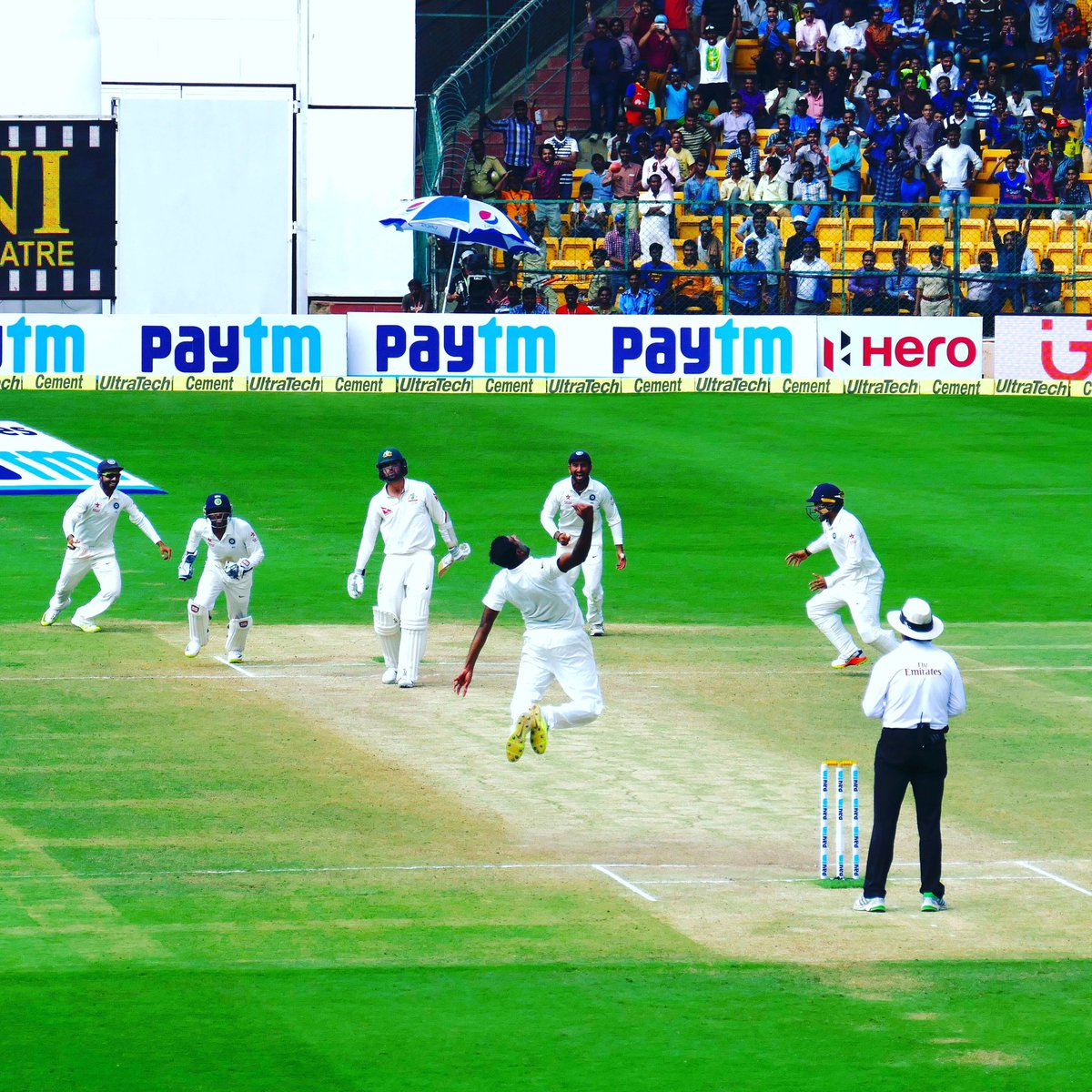 Best cricket match of my life!! https://t.co/nrswN7a1nt
