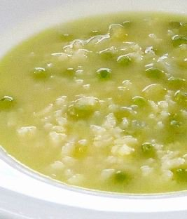 Pea Soup with Rice