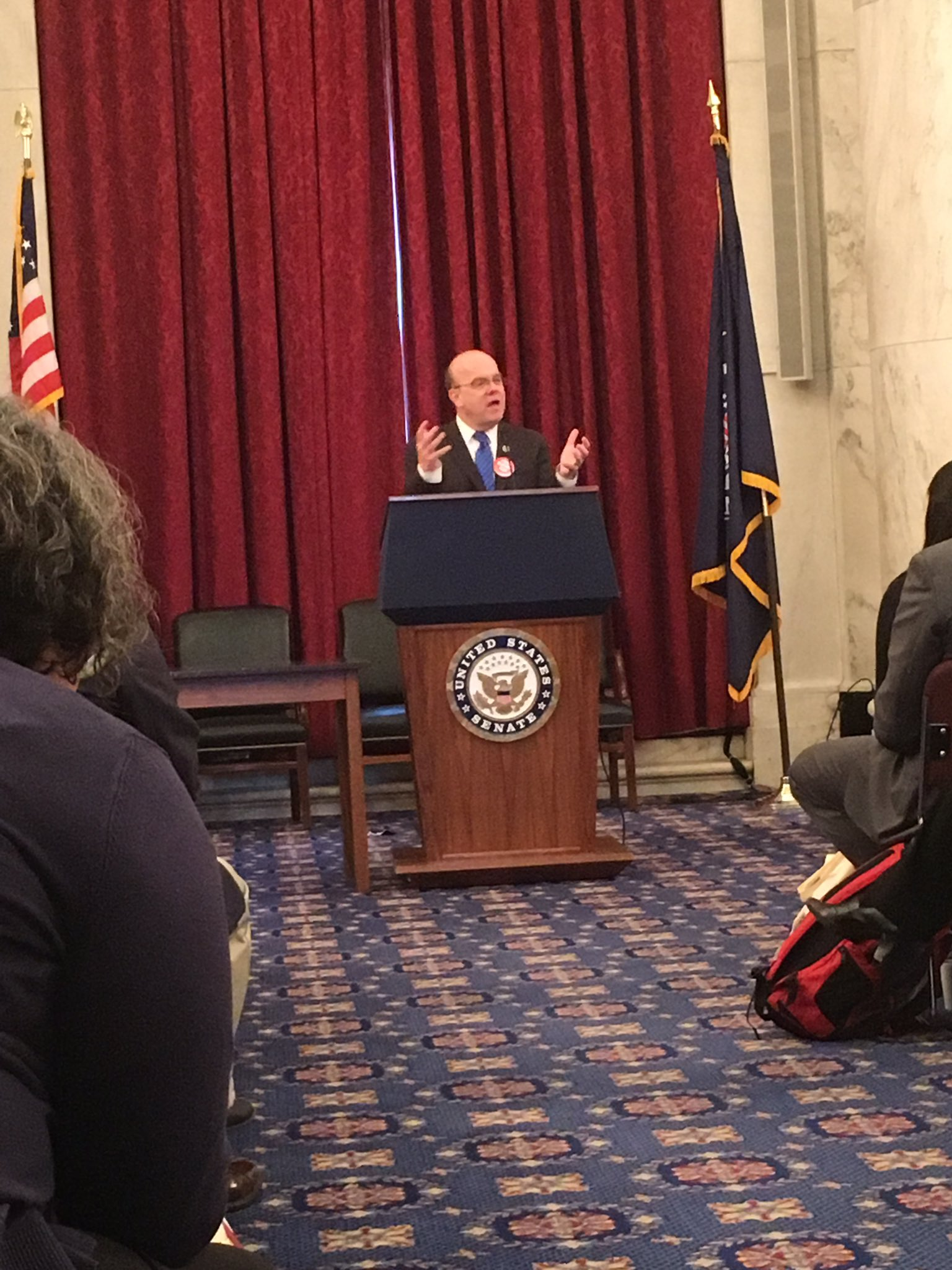 """""""No cuts to SNAP, no block grants, no structural changes. Don't mess with a program that works! @RepMcGovern advocates for SNAP #hungerpc17 https://t.co/zI6XHaRivS"""