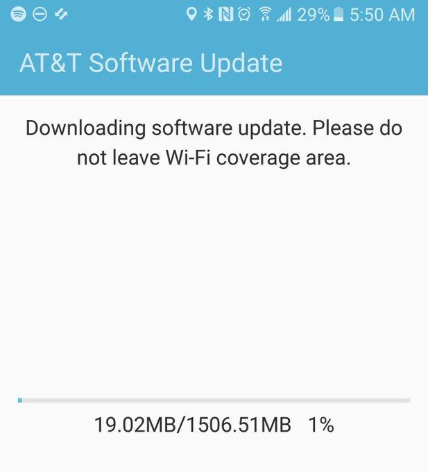 Samsung Galaxy S7 bắt đầu nhận bản cập nhật Nougat