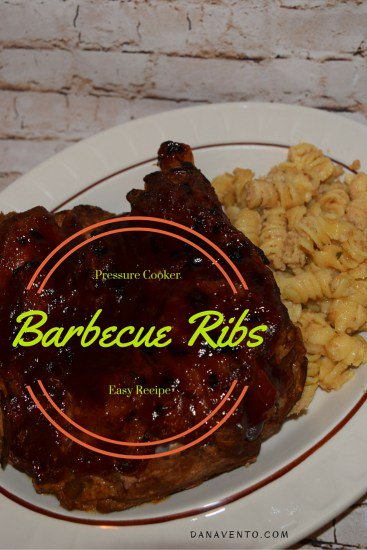 Pressure Cooker Barbecue Ribs