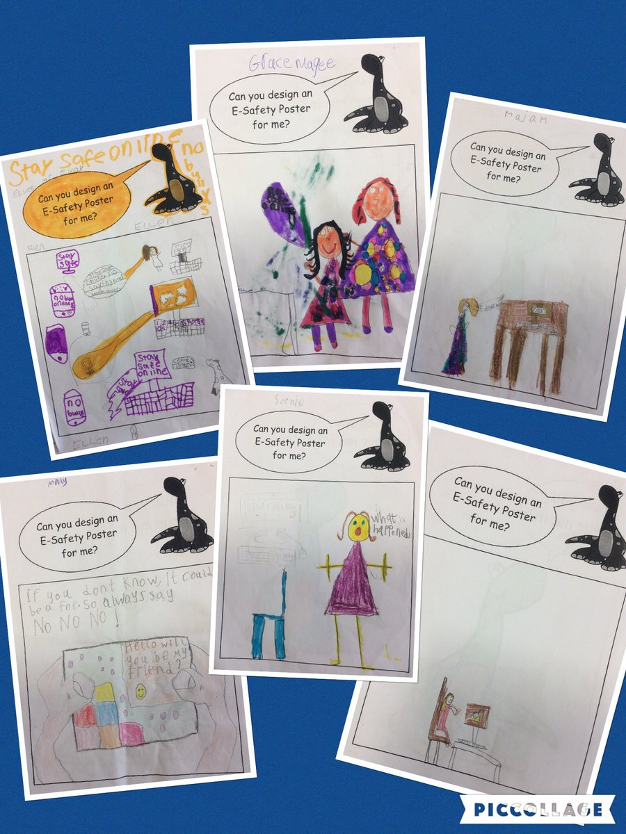 E safety poster designs - These Are Some Home School Projects About E Safety And Our Mascot Techno Thank You Esafety Https T Co 1dnz2k3oxa