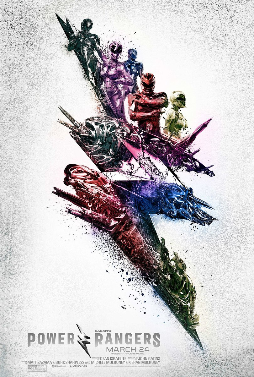 Power Rangers Promotional Poster