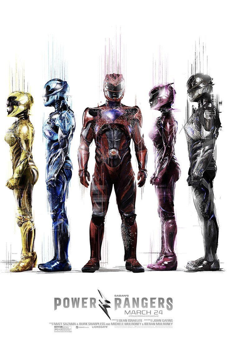 Power Rangers Promotional Posters