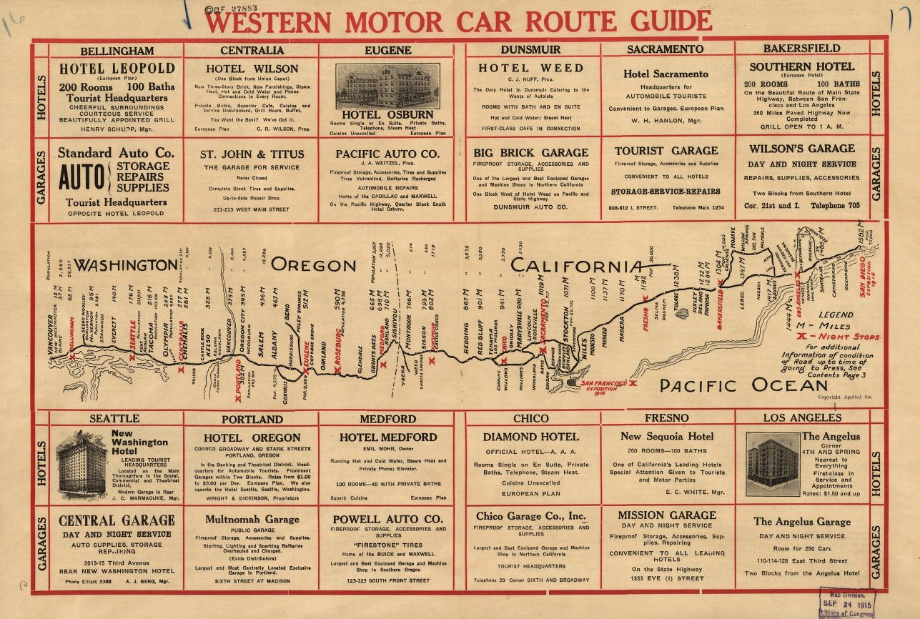 This Western Motor Car Route Guide is from 1915!  https://t.co/5EvVKC5nEV https://t.co/ucbs8psc4g