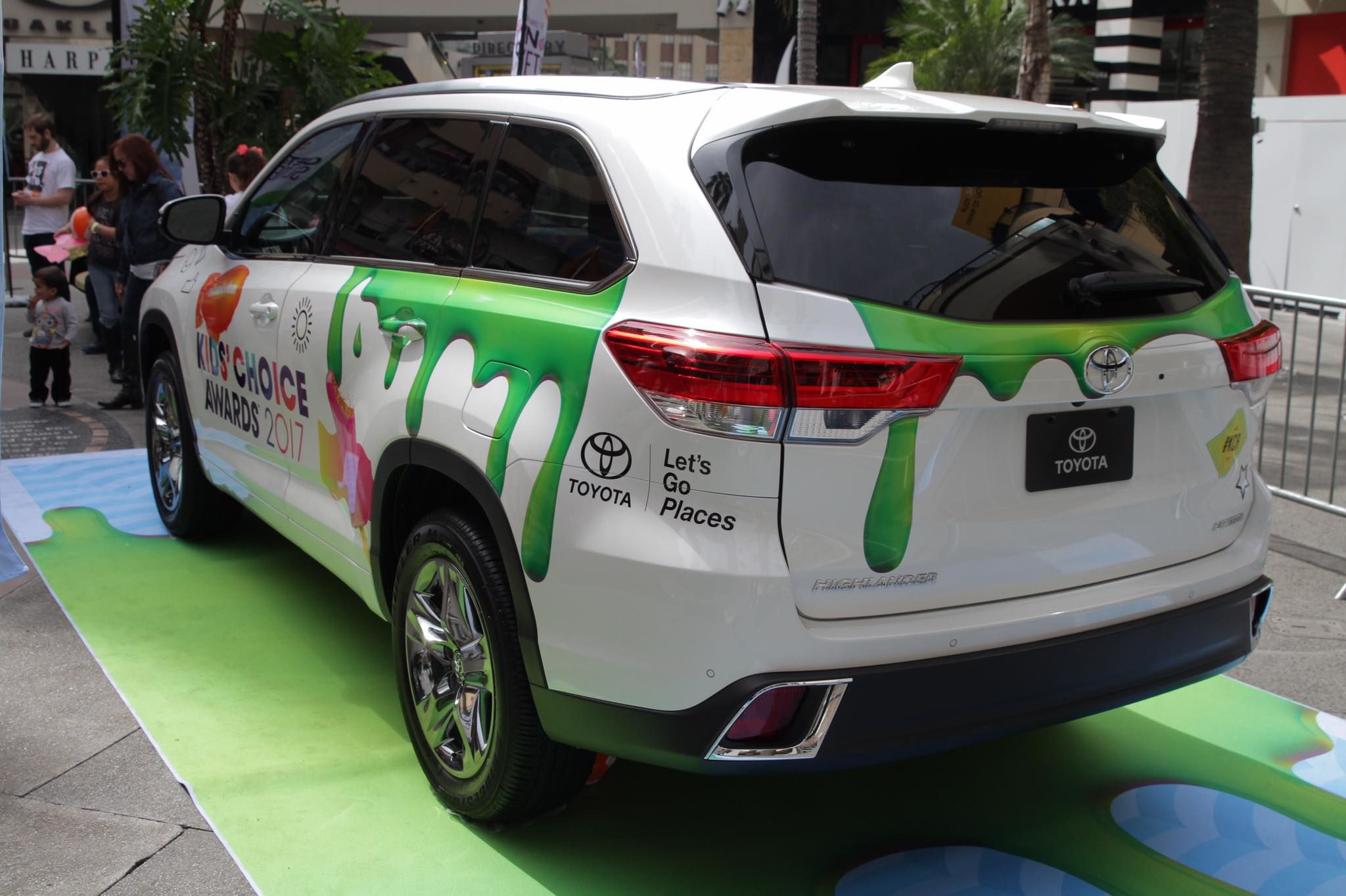 coggin toyota on kids choice awards slime o bration