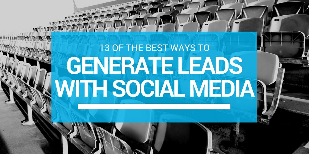 [Blog Post] 13 of the best ways to generate leads with social media https://t.co/p48zhxF9EB https://t.co/EGUbrUTZ1Z