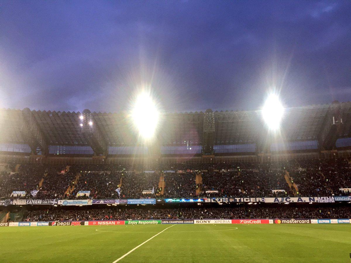 Napoli Real Madrid: Formazioni ufficiali e Diretta TV Streaming alle 20:45 di questa sera