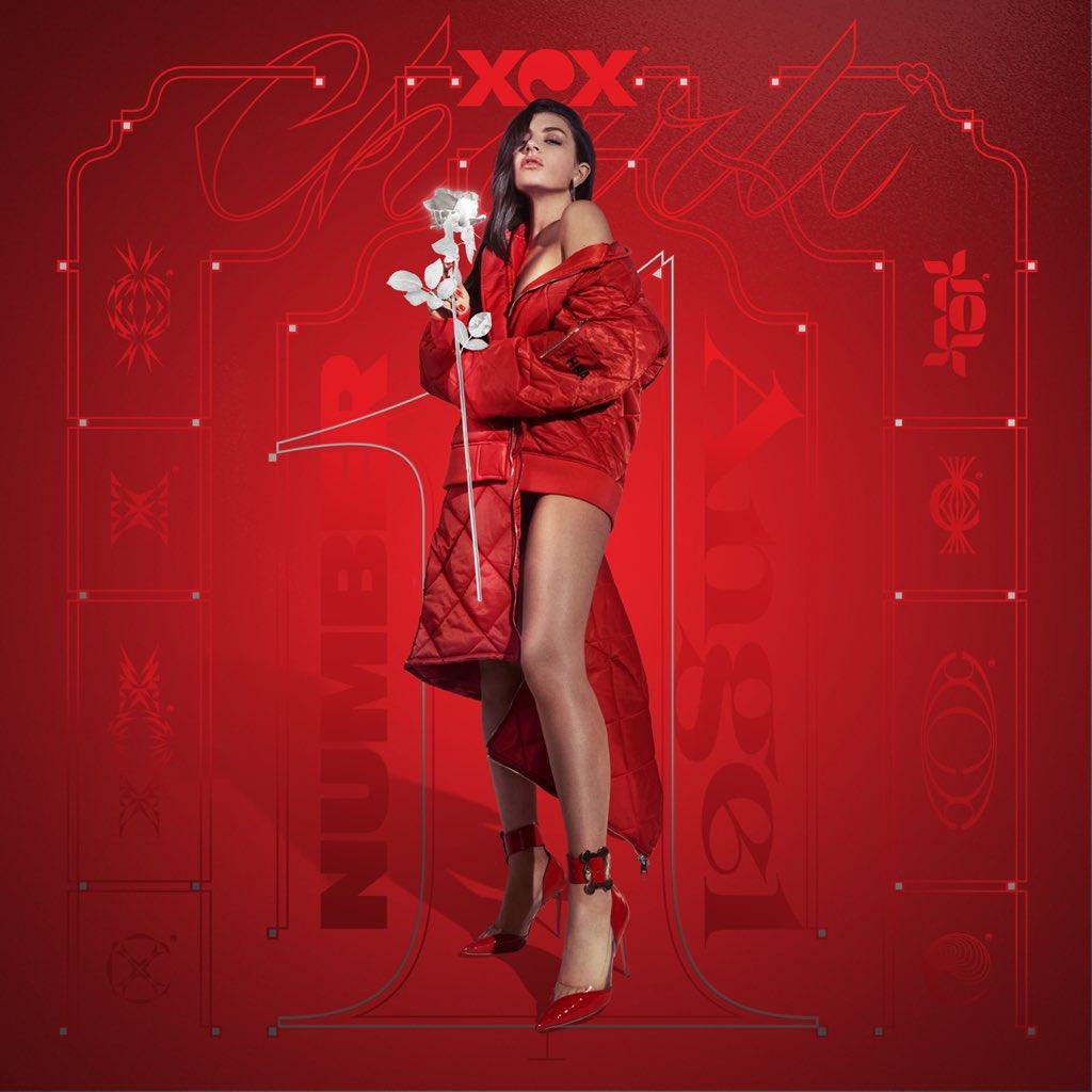 Resultado de imagem para Charli xcx ANGEL NUMBER 1 cover