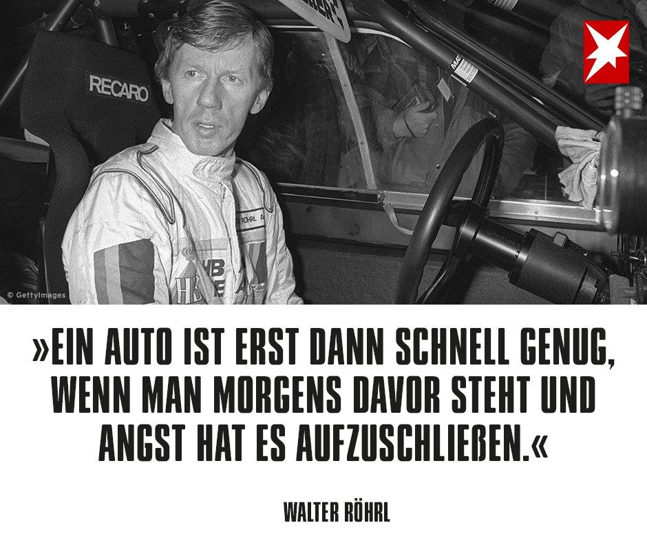 walter röhrl sprüche stern on Twitter: