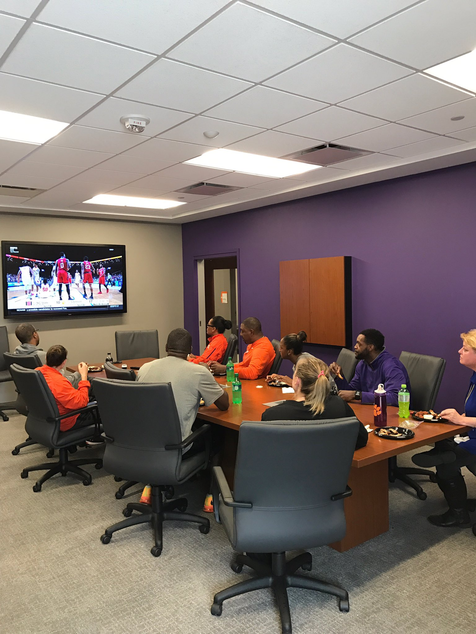 Supporting @ClemsonMBB! Let's go Tigers! https://t.co/1juuAX4Zpf