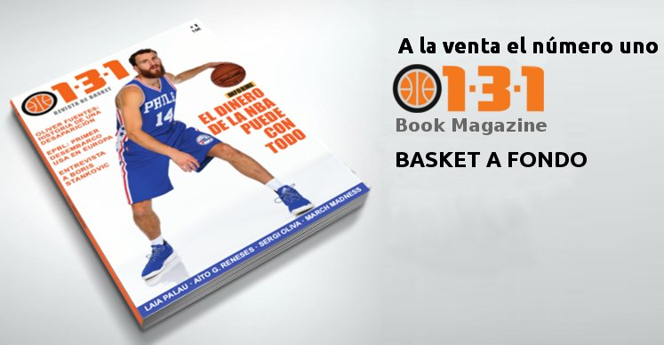 Nace 1-3-1 Book Magazine. 140 páginas de basket a fondo https://t.co/ygECJJDvta https://t.co/kbHPp0MVVv
