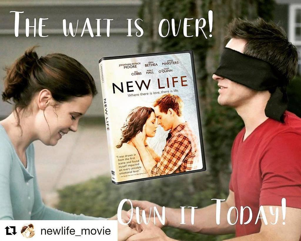 It's here! It's here! The movie I directed is HERE!!!!! Bring #NewLifeMovie home today and… https://t.co/WeGpMszVyc https://t.co/kK4ScyVu79