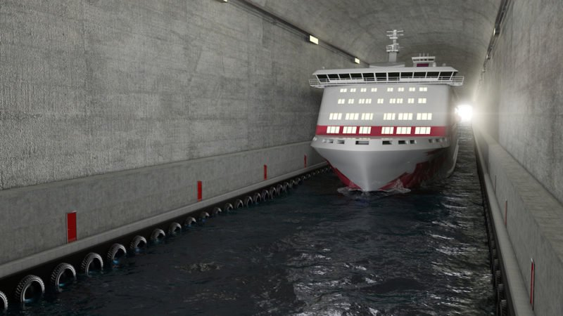World's First Ship Tunnel to Bypass Dangerous Seas in Norway https://t.co/6abkjvlzb7 https://t.co/Gc47NwUPbT