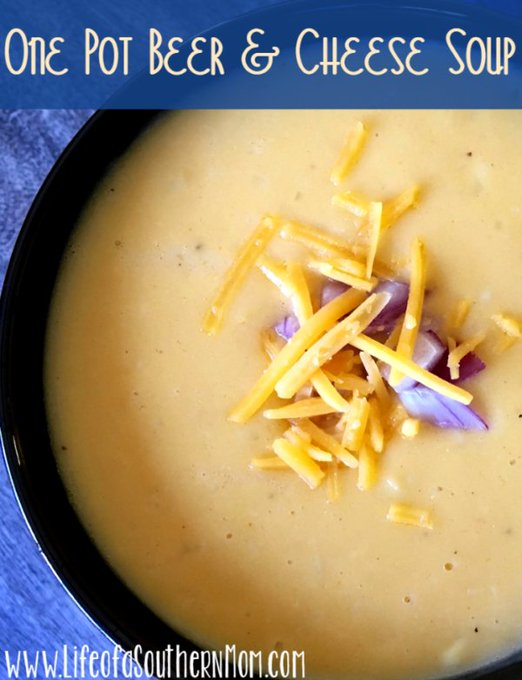 Quick and Easy One Pot Beer and Cheese Soup — Life of a Southern Mom