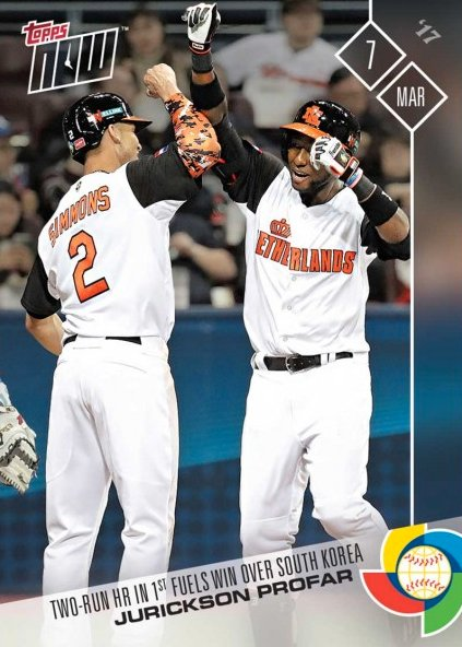 Cardboard Connection On Twitter New 2017 Topps Now Wbc World