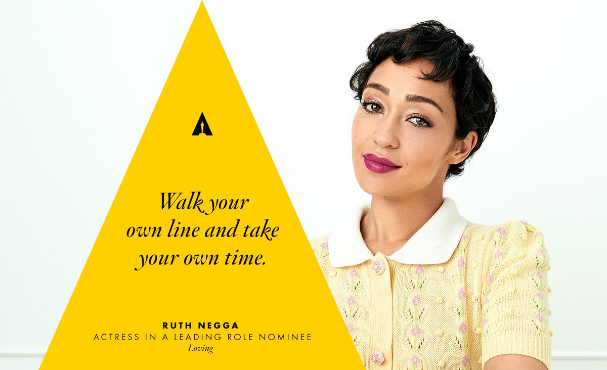 Some wise words from Ruth Negga. https://t.co/AQccjorg3c
