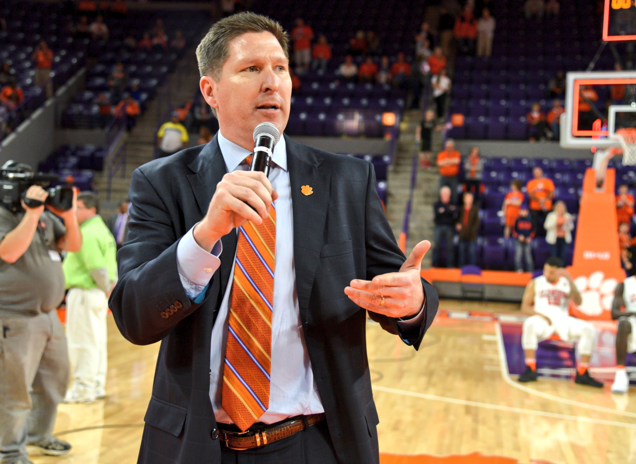 With today's win over NC State, @Coach_Brownell tied Cliff Ellis for most wins vs ACC teams with 59. #TigerPride 🐾 https://t.co/Bzk64VSGO1