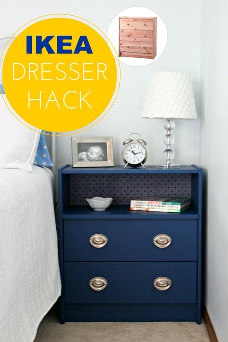 Must Try Dresser Hack with Rast Ikea Dressers!