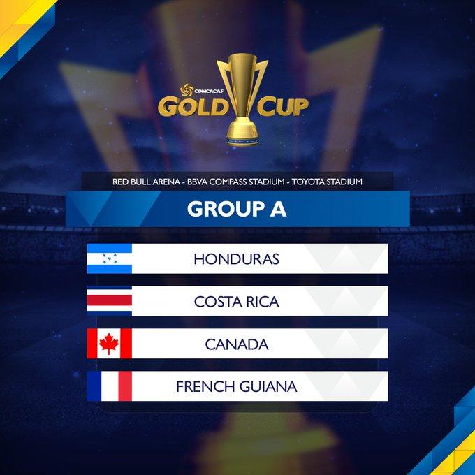 Sorteo Copa Oro 2017. C6VzbmuXEAEDXBJ