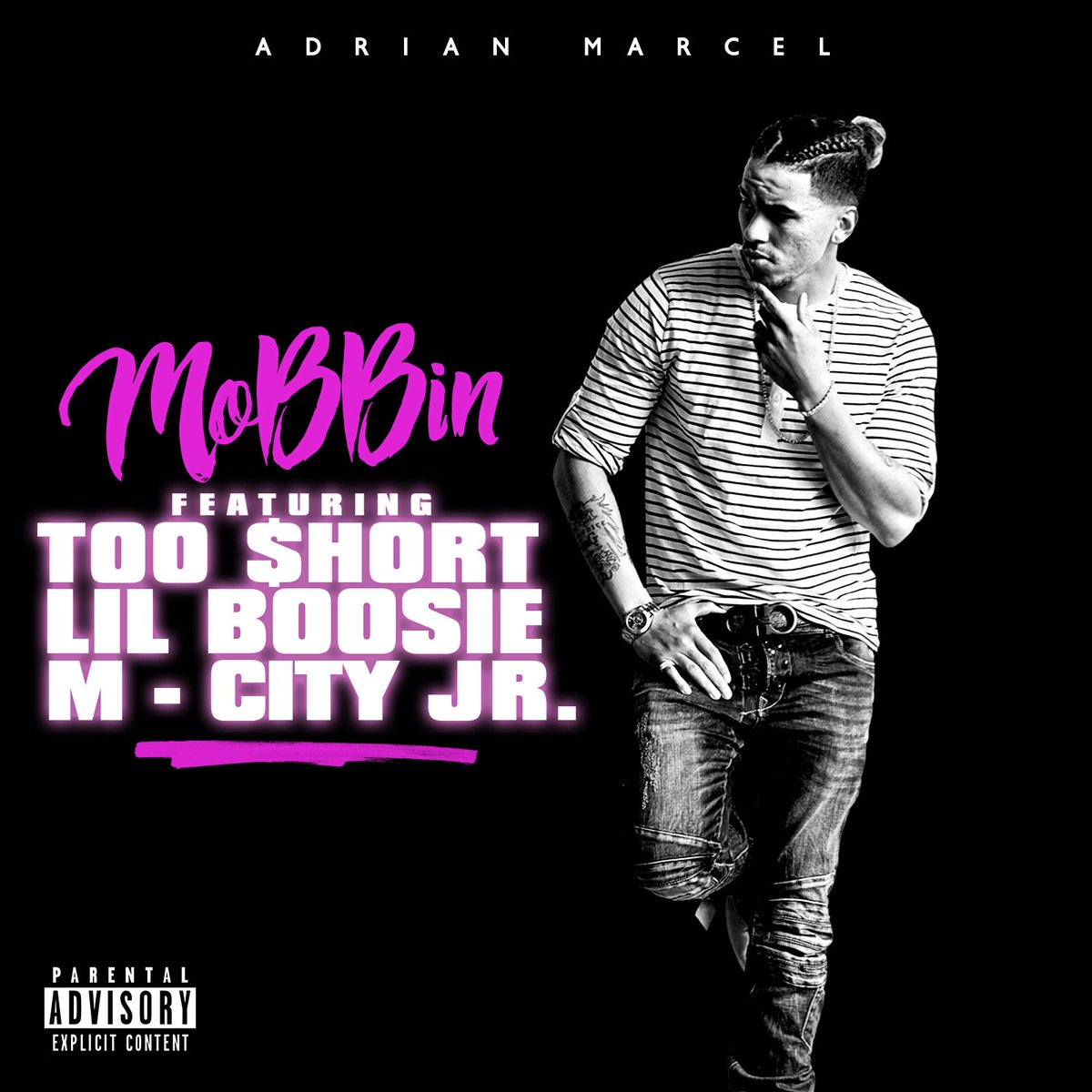 "NEW MUSIC: @adrianmarcel510 ""Mobbin"" DOWNLOAD HERE https://t.co/W4H0jyHl6T"