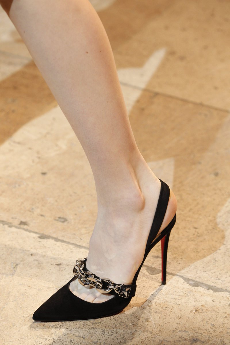 Custom Christian Louboutin stilettos
