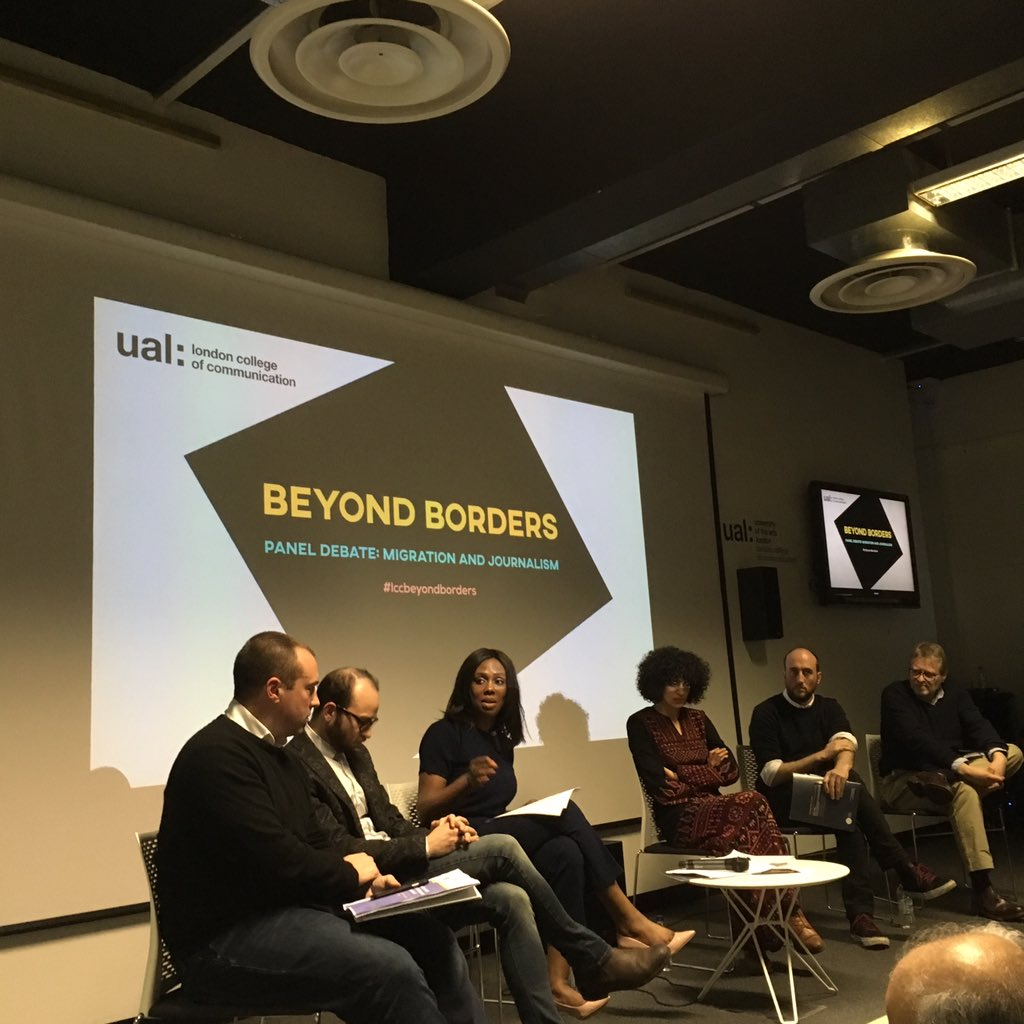 Thumbnail for Beyond Borders - Refugees in Journalism