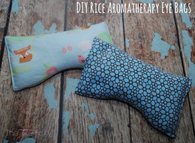 DIY Aromatherapy Rice Eye Bags & 5 Ways to Get MORE Sleep