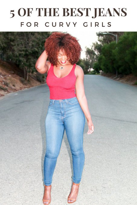 5 Of The Best Jeans For Curvy Girls