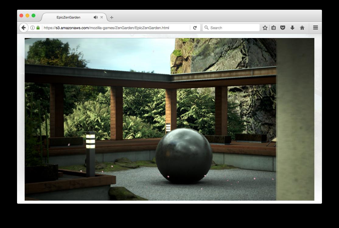 .@UnrealEngine's Zen Garden demo now running on the web! 👍 s3.amazonaws.com/mozilla-games/…