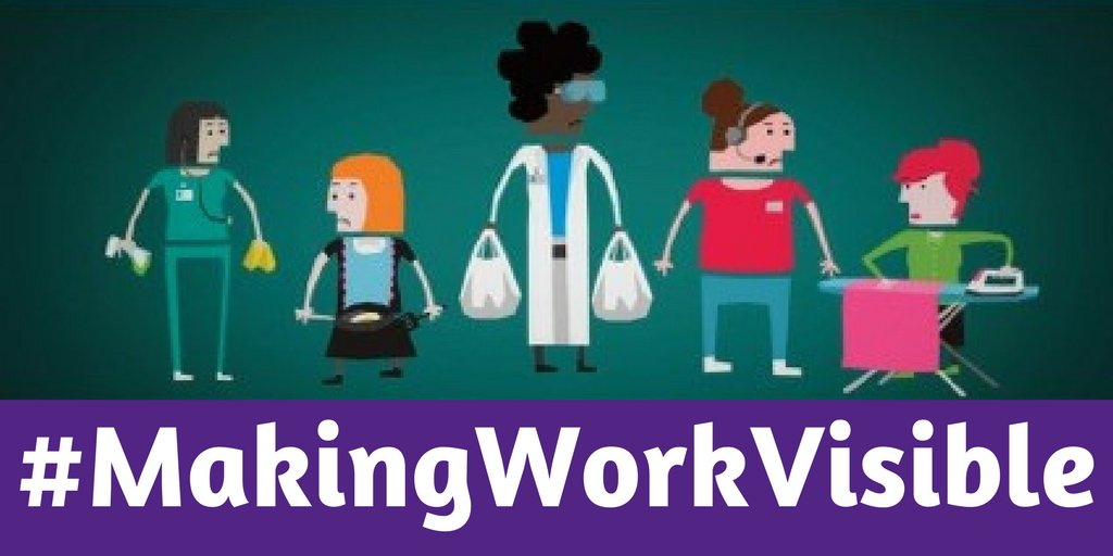 Today & every day women do work which is undervalued or invisible. We'll be #MakingWorkVisible - help us by live-tweeting your day! #IWD2017 https://t.co/kkK1nMkFFL