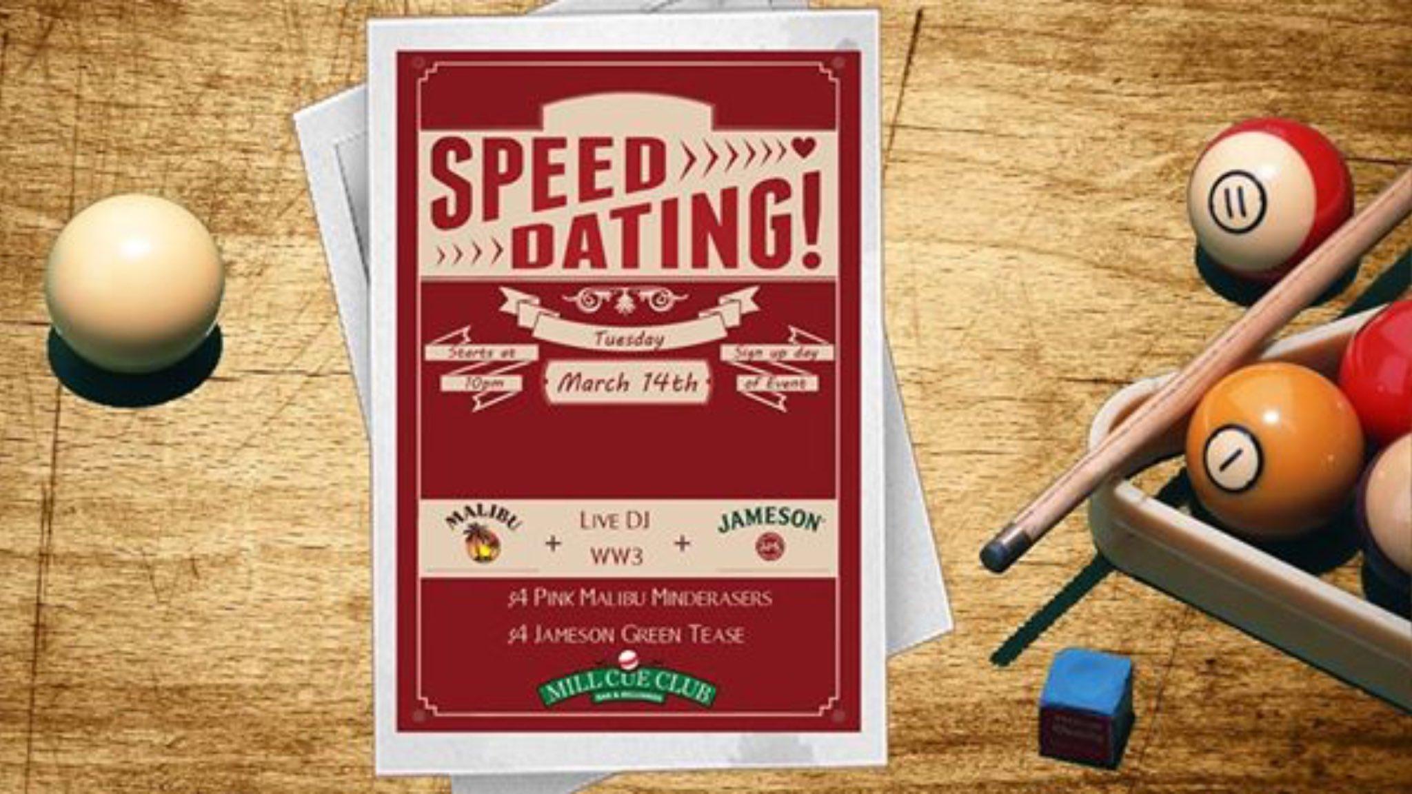 tempe speed dating online datování se nesetkává