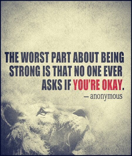 Benny Christian On Twitter The Worst Part About Being Strong Is