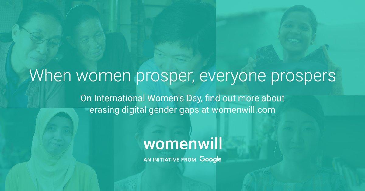 ผู้หญิงเปลี่ยนโลกให้ดีขึ้นได้ มาสนับสนุนให้โอกาสผู้หญิงเข้าถึงข้อมูลมากขึ้นได้ที่ goo.gl/SL9ibf #Womenwill